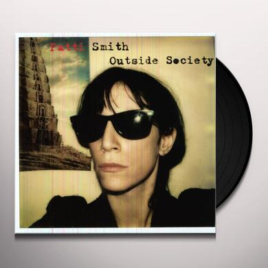 Patti Smith OUTSIDE SOCIETY Vinyl Record