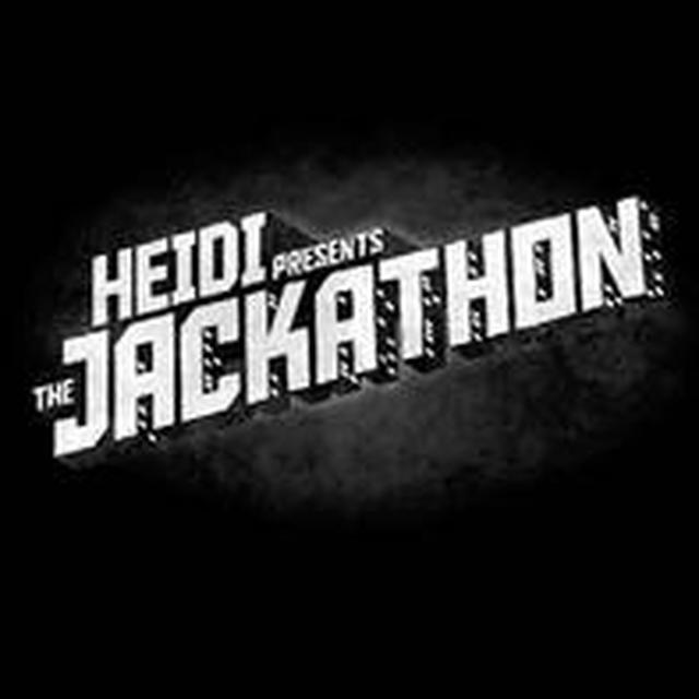 Heidi PRESENTS THE JACKATHON (EP) Vinyl Record