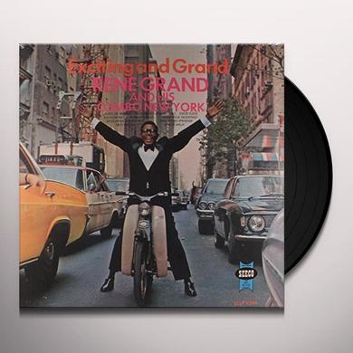 Rene Grand & His Combo New York EXCITING & GRAND Vinyl Record
