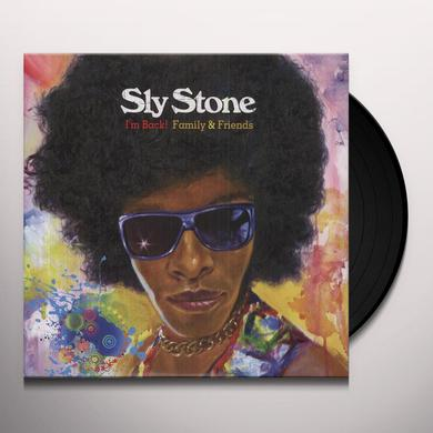 Sly Stone IM BACK FAMILY & FRIENDS Vinyl Record