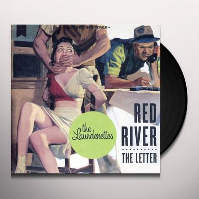 The Launderettes RED RIVER / THE LETTER Vinyl Record