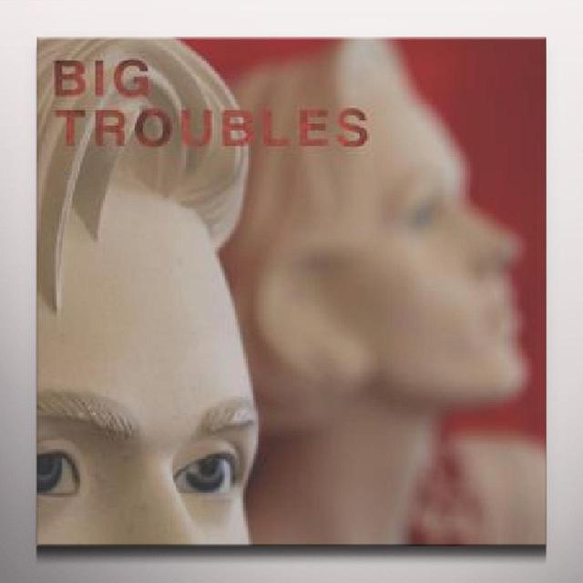 Big Troubles SAD GIRLS Vinyl Record - Colored Vinyl