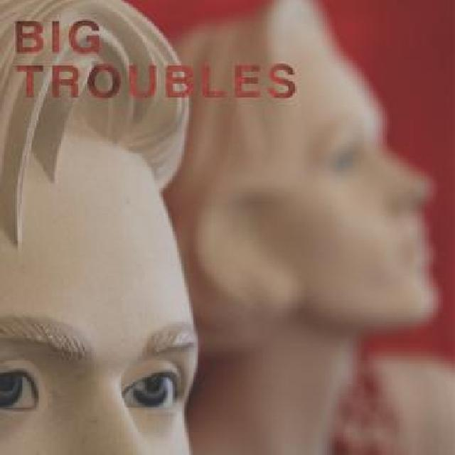 Big Troubles SAD GIRLS Vinyl Record - Colored Vinyl