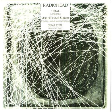 Radiohead FERAL LONE REMIX / MORNING MR MAGPIE PEARSON SOUND Vinyl Record