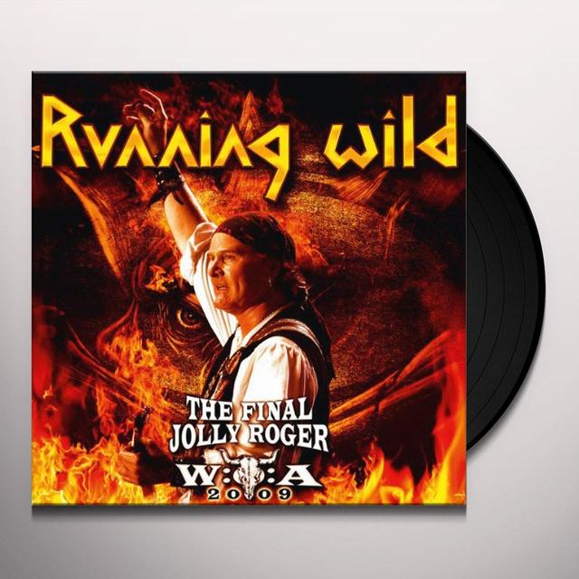 Running Wild FINAL JOLLY ROGER Vinyl Record