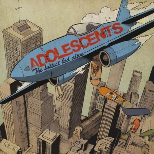 Adolescents FASTEST KID ALIVE Vinyl Record