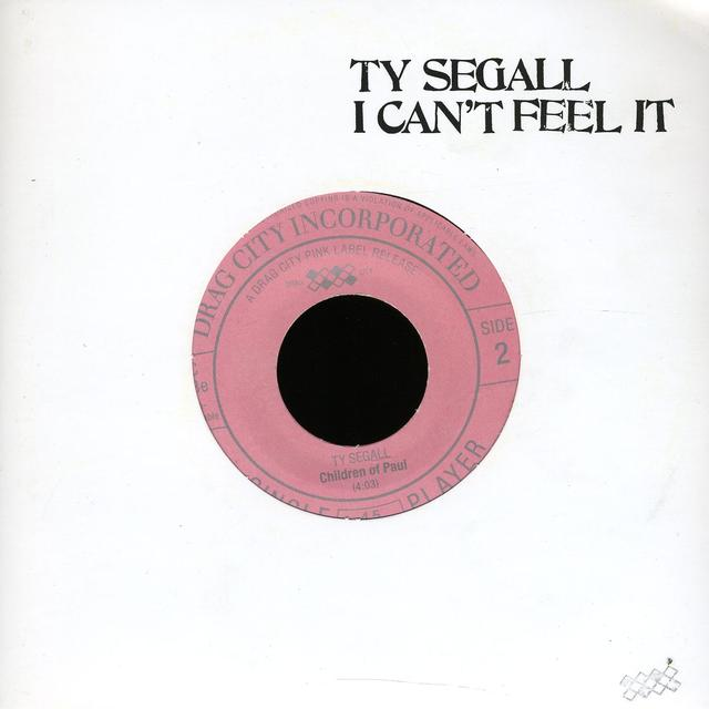 Ty Segall CANT FEEL IT Vinyl Record