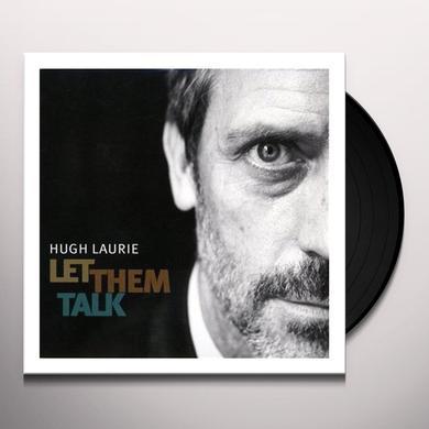 Hugh Laurie LET THEM TALK (GER) Vinyl Record