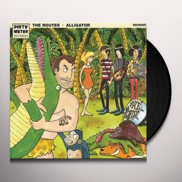Routes ALLIGATOR Vinyl Record