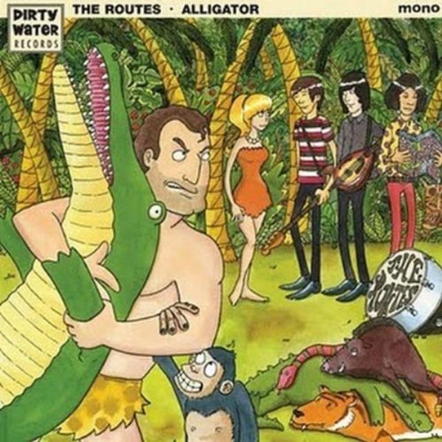 Routes ALLIGATOR Vinyl Record