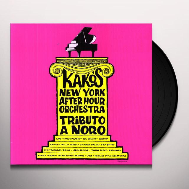 Kako & His New York After Hours Orchestra TRIBUTE TO NORO MORALES Vinyl Record