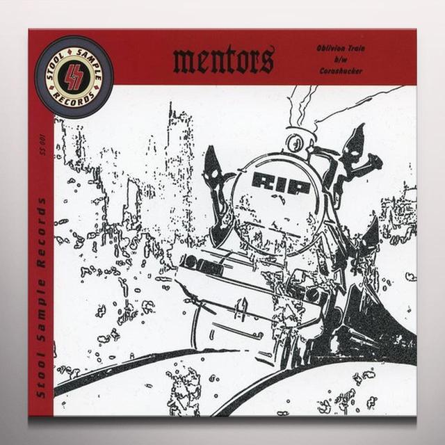 Mentors OBLIVION TRAIN Vinyl Record - Colored Vinyl, Limited Edition