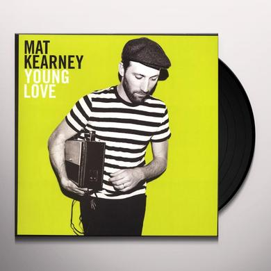 Mat Kearney YOUNG LOVE Vinyl Record