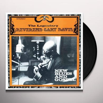 Reverend Gary Davis NEW BLUES & GOSPEL Vinyl Record - 180 Gram Pressing