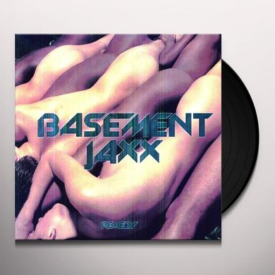 Basement Jaxx REMEDY Vinyl Record - Holland Import