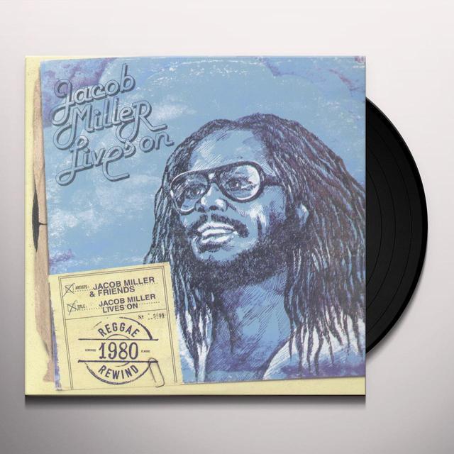 Jacob Miller LIVES ON Vinyl Record