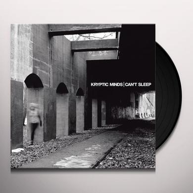 Kryptic Minds CANT SLEEP Vinyl Record