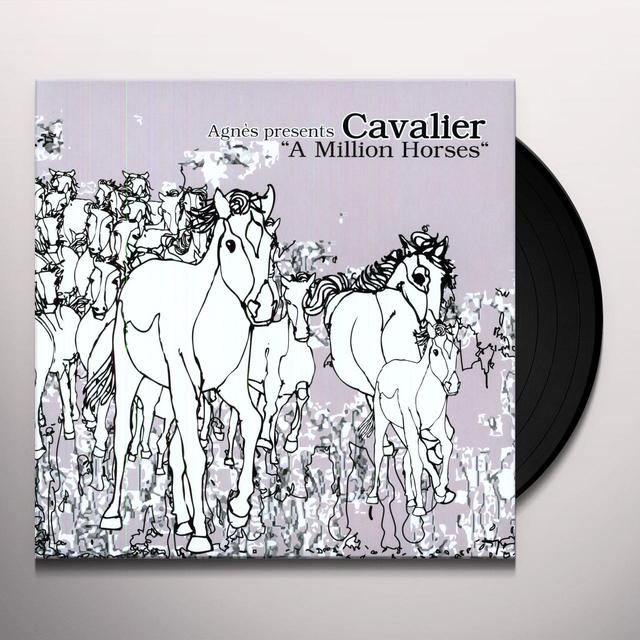 Cavalier MILLION HORSES Vinyl Record - w/CD