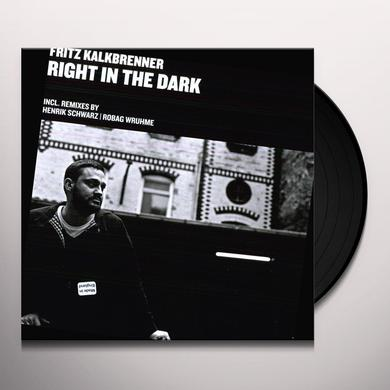 Fritz Kalkbrenner RIGHT IN THE DARK Vinyl Record