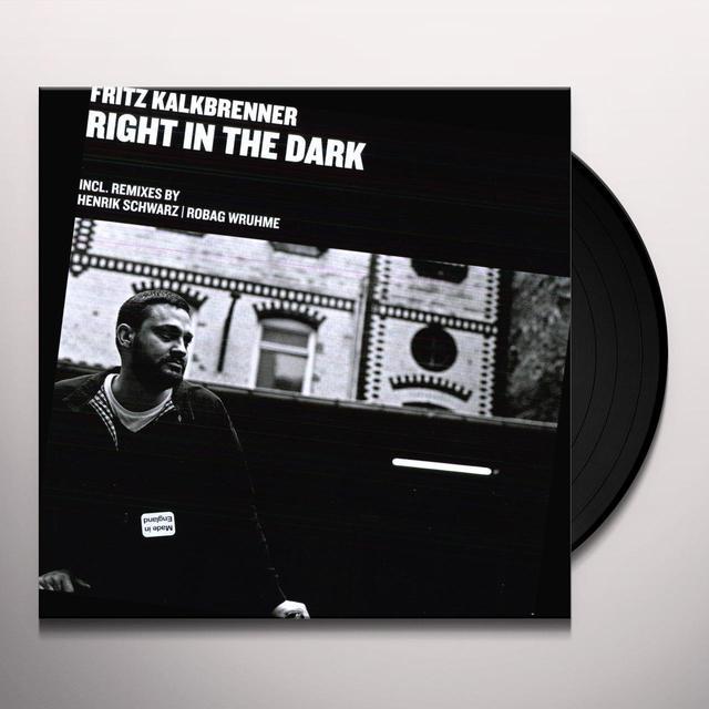 Fritz Kalkbrenner RIGHT IN THE DARK (EP) Vinyl Record