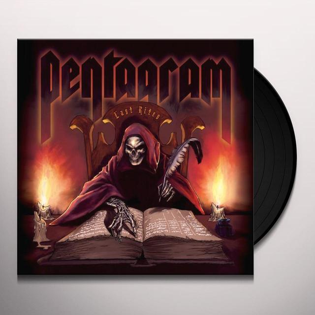 Pentagram LAST RITES Vinyl Record