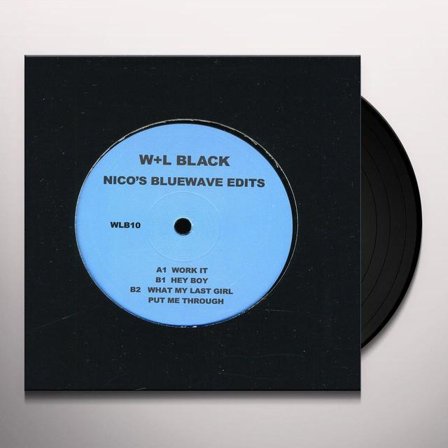 Nicolas Jarr NICO'S BLUEWAVE EDITS (EP) Vinyl Record