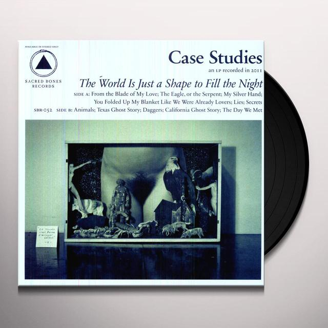 Case Studies WORLD IS JUST A SHAPE TO FILL THE NIGHT Vinyl Record
