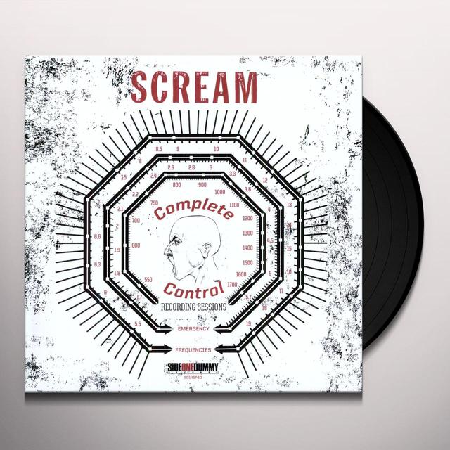 SCREAM COMPLETE CONTROL SESSIONS Vinyl Record