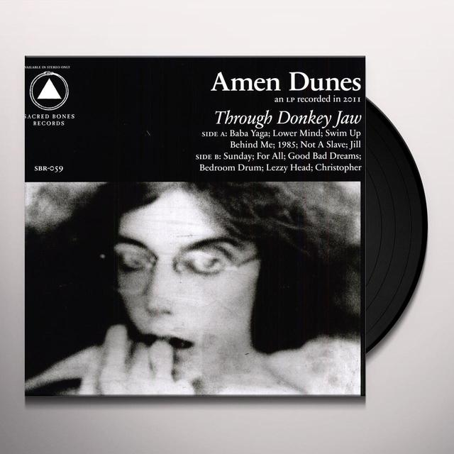 Amen Dunes THROUGH DONKEY JAW Vinyl Record