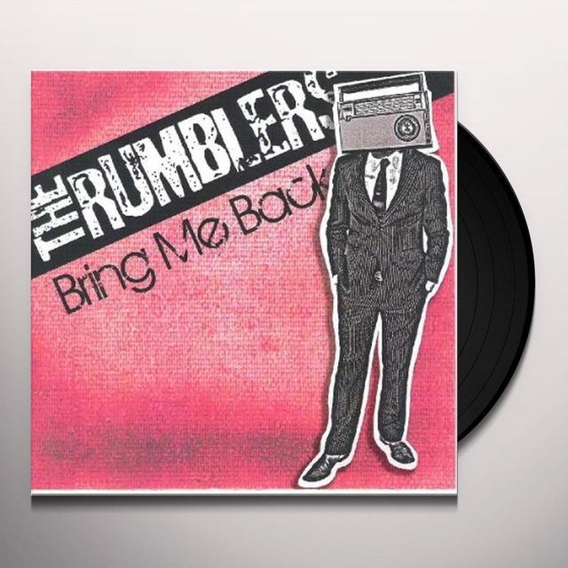 Rumblers BRING ME BACK Vinyl Record
