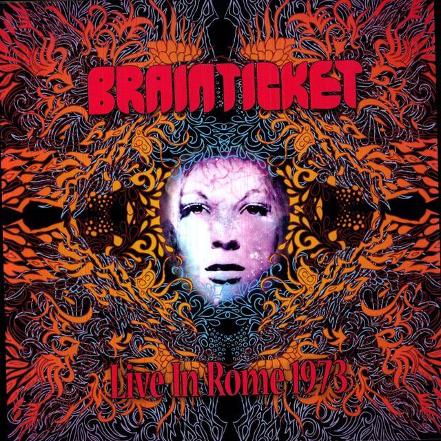 Brainticket LIVE IN ROME 1973 Vinyl Record