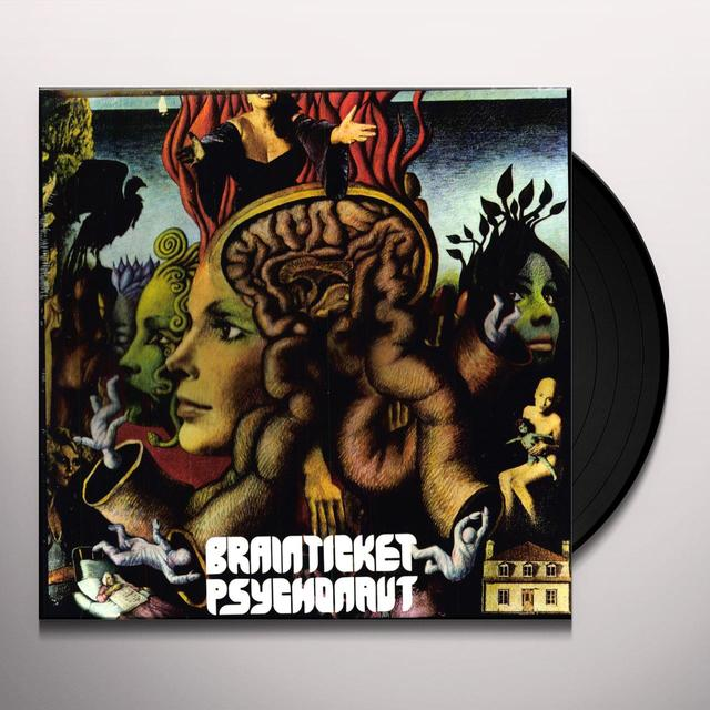 Brainticket PSYCHONAUT Vinyl Record