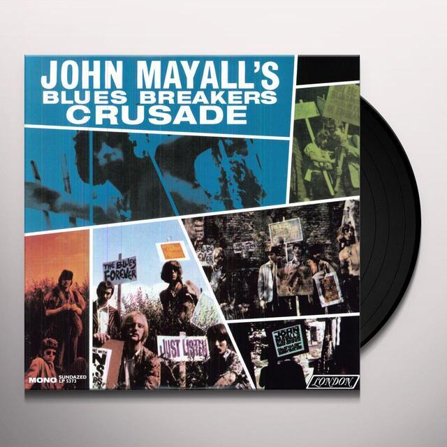 John Mayall CRUSADE Vinyl Record