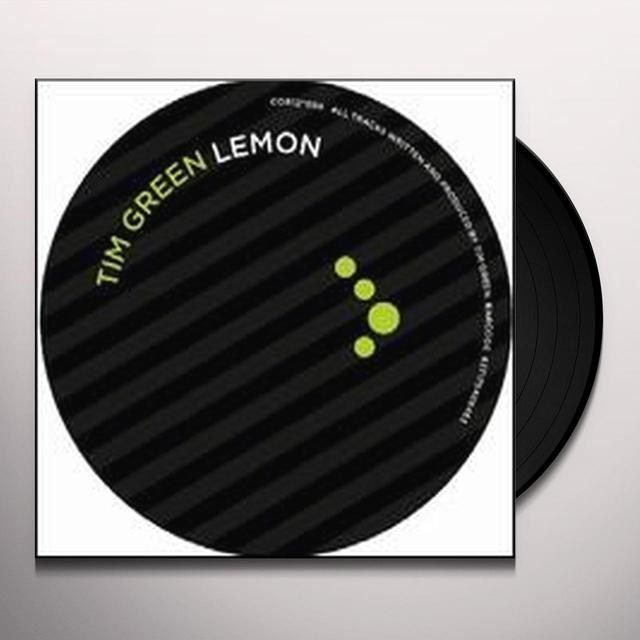 Tim Green LEMON (EP) Vinyl Record