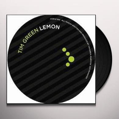 Tim Green LEMON (EP) Vinyl Record
