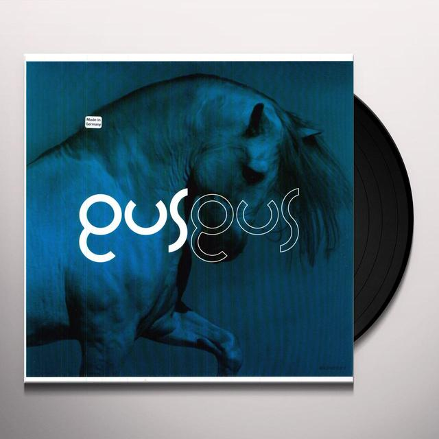 Gusgus OVER REMIXE Vinyl Record
