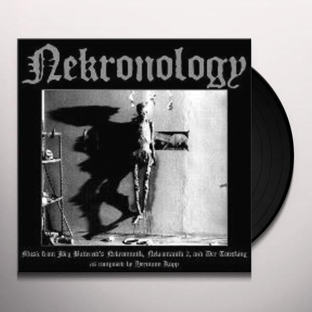 NEKRONOLOGY: MUSIC FROM JORG BUTTGEREIT'S / O.S.T. Vinyl Record