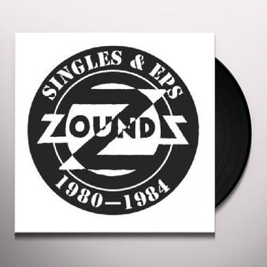 Zounds SINGLES & EPS: 1980-1984 Vinyl Record