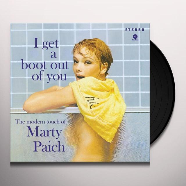 Marty Paich I GET A BOOT OUT OF YOU Vinyl Record - 180 Gram Pressing