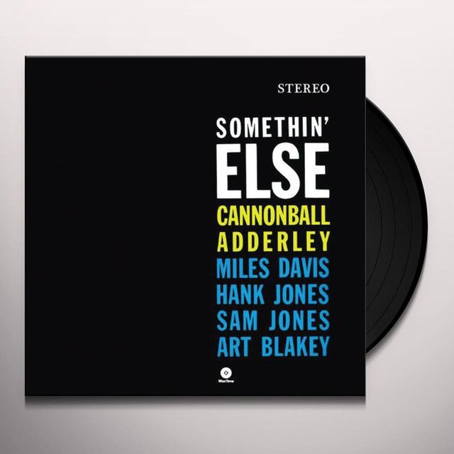 Cannonball Adderley SOMETHIN ELSE Vinyl Record - 180 Gram Pressing
