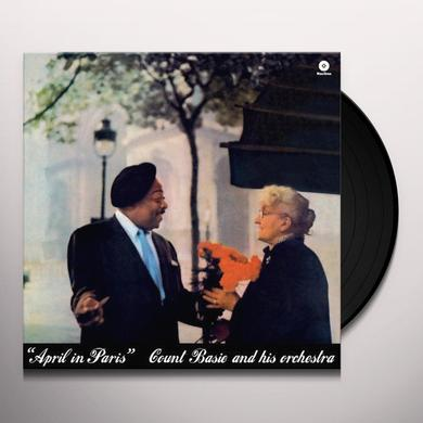 Count Basie APRIL IN PARIS Vinyl Record - 180 Gram Pressing