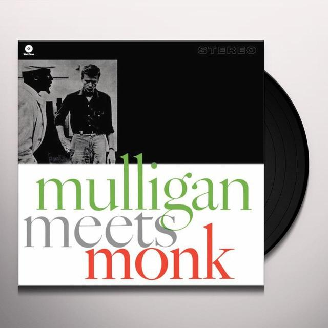 Gerry Mulligan / Thelonious Monk MULLIGAN MEETS MONK Vinyl Record - 180 Gram Pressing