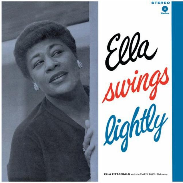 Ella Fitzgerald ELLA SWINGS LIGHTLY Vinyl Record - 180 Gram Pressing