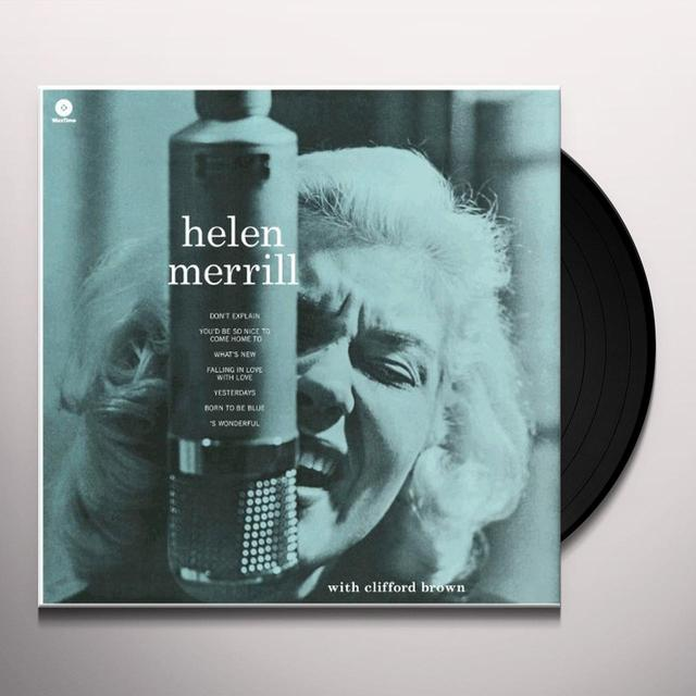 Helen Merrill WITH CLIFFORD BROWN Vinyl Record