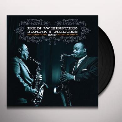 Ben Webster / Johnny Hodges COMPLETE JAZZ CELLAR SESSION 1960 Vinyl Record