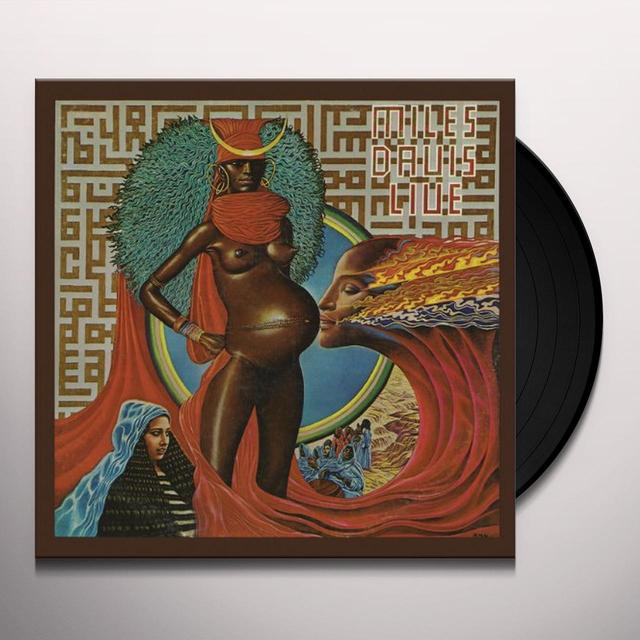Miles Davis LIVE-EVIL Vinyl Record