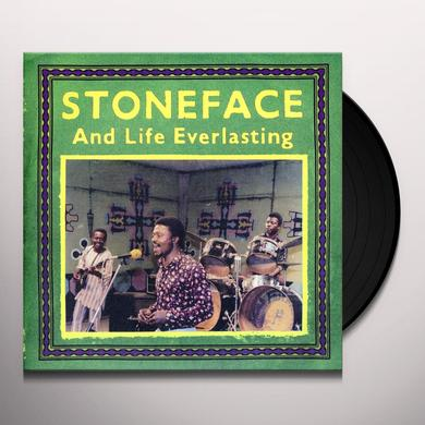 Stoneface & Life Everlasting LOVE IS FREE / AGAWALAM MBA Vinyl Record - Limited Edition