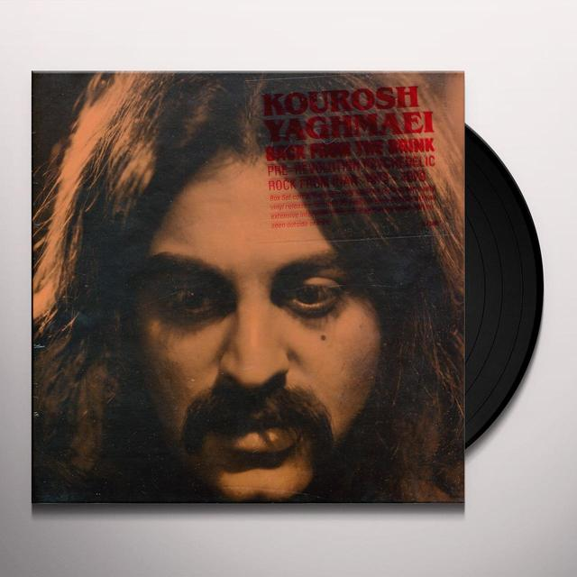 Kourosh BACK FROM THE BRINK Vinyl Record