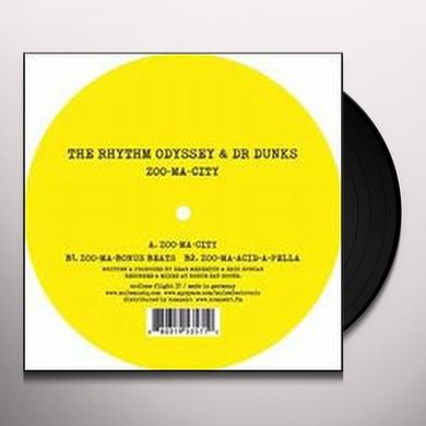 Rhythm Odyssey / Dr Dunks ZOO-MA-CITY Vinyl Record