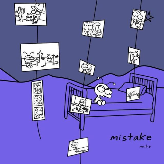 Moby MISTAKE Vinyl Record